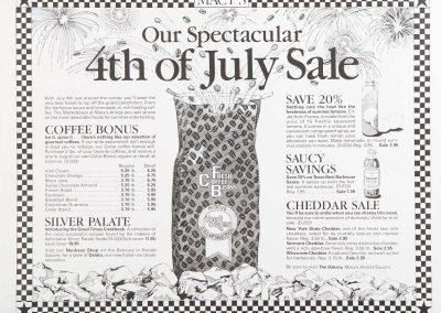 MACY'S CELLAR ADVERTISING